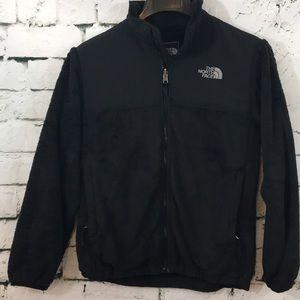 Black North Face jacket! Girls-size L